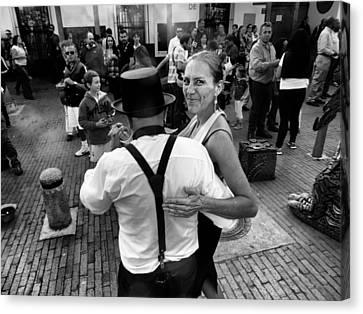 Heartbreaker Canvas Print - Dancing In The Street by Daniel Gomez