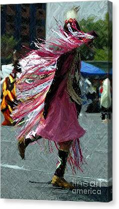 Dancing Canvas Print by Kathleen Struckle