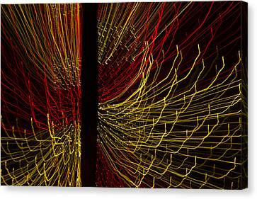 Dancing Lights 5  Canvas Print by Penny Lisowski