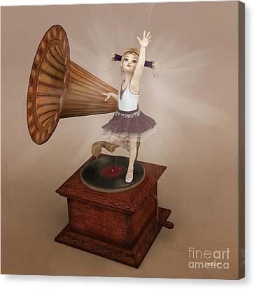Dancing Queen Canvas Print by Jutta Maria Pusl