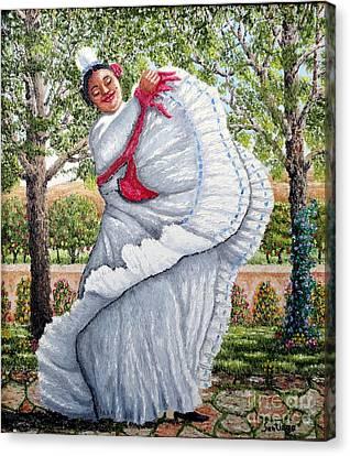 Dancing Queen Canvas Print by Santiago Chavez