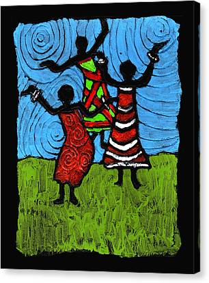 Dancing So Good I Started To Fly Canvas Print