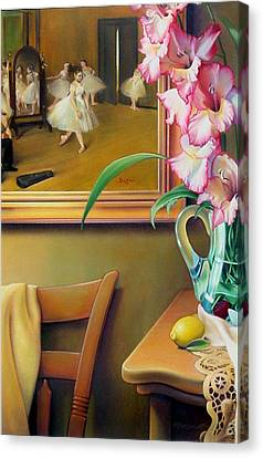 Dancing With Glads Canvas Print by Patrick Anthony Pierson