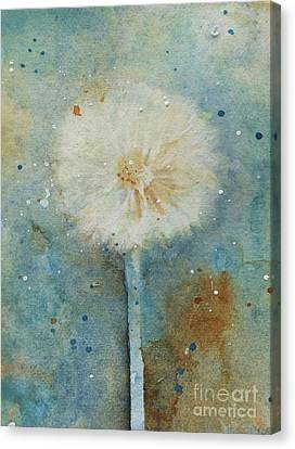 Dandelion Clock 2 Canvas Print