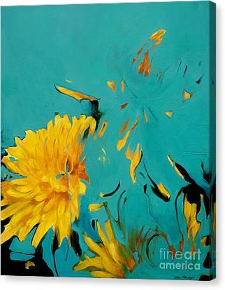 Dandelion Summer Canvas Print