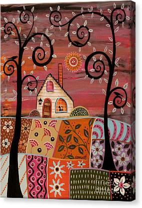 Dandy Landscape Canvas Print by Karla Gerard