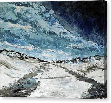 Dangerous Crossing Canvas Print
