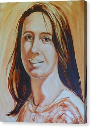 Dani Girl Canvas Print by Ida Eriksen