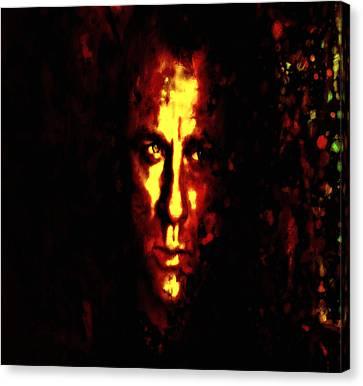 Terrorist Canvas Print - Daniel Craig 3s by Brian Reaves