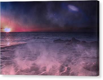 Danight Storm Canvas Print