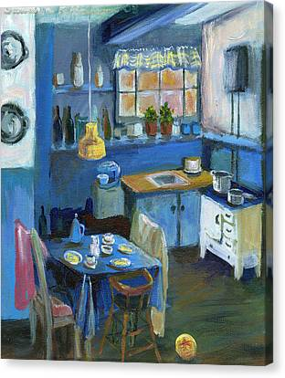 Danish Kitchen Canvas Print