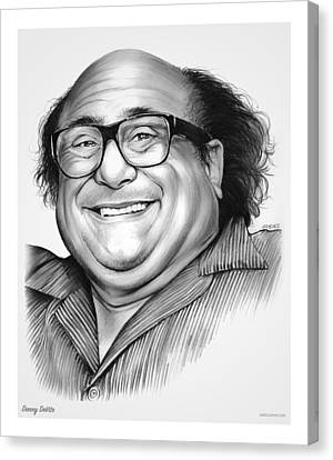 Americans Canvas Print - Danny Devito by Greg Joens