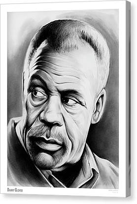 Danny Glover Canvas Print by Greg Joens