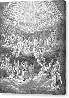 Dante: Paradise Canvas Print by Granger