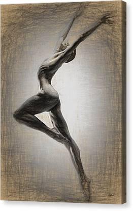 Danza Apasionada Canvas Print by Joaquin Abella