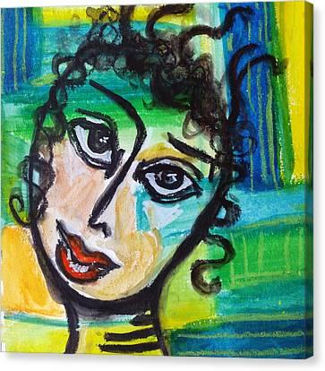 Daphne - Vivid Vixen 4 Canvas Print