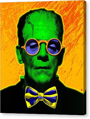 Dapper Monster Canvas Print by Gary Grayson