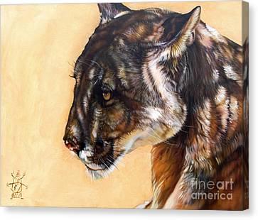 Indigenous Wildlife Canvas Print - Dappled by J W Baker