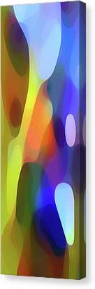 Dappled Light Panoramic Vertical Canvas Print by Amy Vangsgard