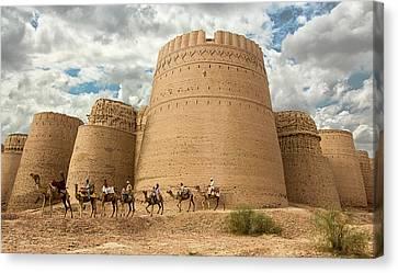 Darawar Fort Bahawalpur Punjab Pakistan Canvas Print by Tahsin Shah