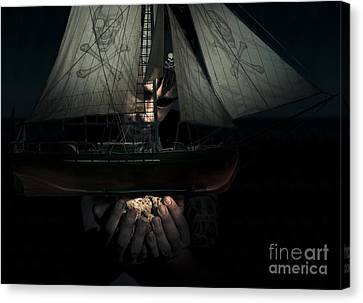 Dark Adventure Canvas Print by Jorgo Photography - Wall Art Gallery