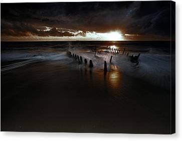 Dark And Moody Canvas Print by Mel Brackstone