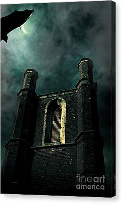 Dark Castle Canvas Print by Jorgo Photography - Wall Art Gallery