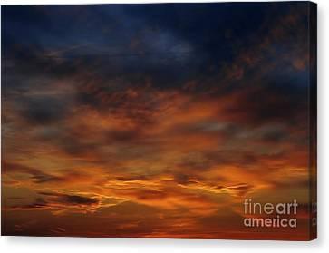 Dark Clouds Canvas Print by Michal Boubin