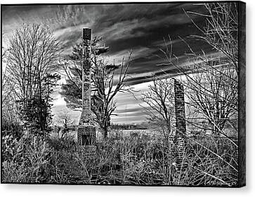 Canvas Print featuring the photograph Dark Days by Brian Wallace