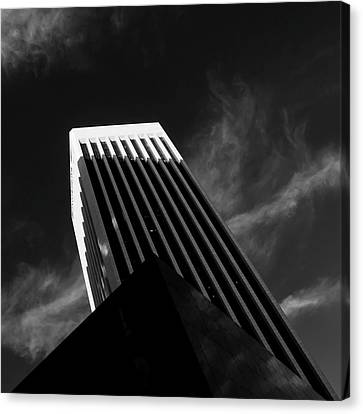 Dark Geometry Canvas Print by Kevin Bergen