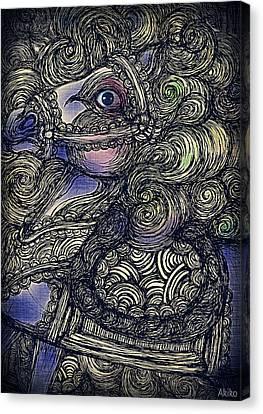 Dark Horse Canvas Print by Akiko Okabe