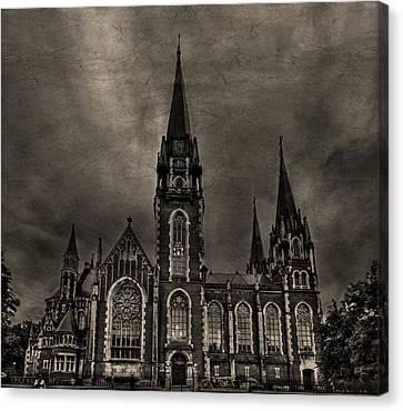 Gothic Canvas Print - Dark Kingdom by Evelina Kremsdorf
