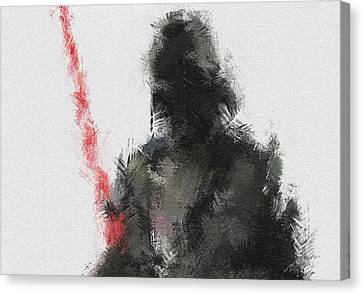 Character Portraits Canvas Print - Dark Lord by Miranda Sether