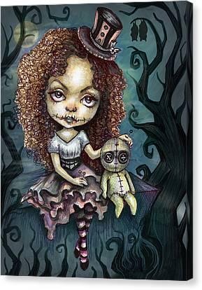 Dark Magic Canvas Print by Diana Levin