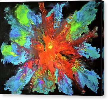 Sombre Canvas Print - Dark Pandora by Tiberiu Soos