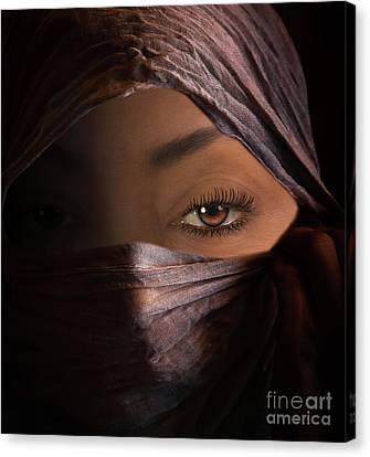 Canvas Print featuring the photograph Dark Secrets by Jim  Hatch