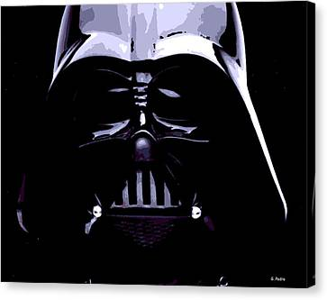 Dark Side Canvas Print by George Pedro