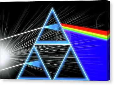 Dark Side Of The Moon Canvas Print by Dan Sproul