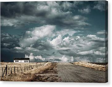 Dark Sky Canvas Print by Humboldt Street