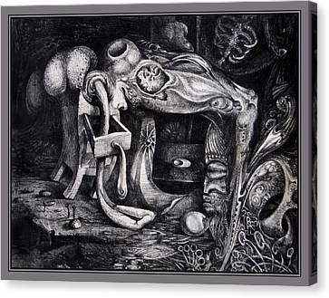 Dark Surprise Canvas Print by Otto Rapp