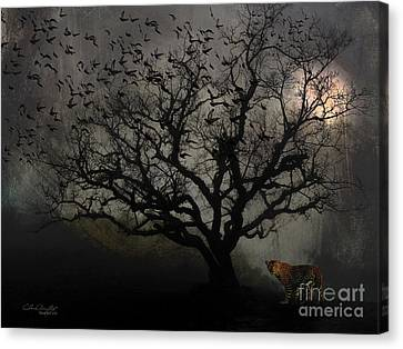 Dark Valley Canvas Print by Chris Armytage