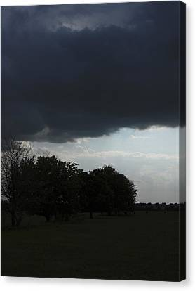 Canvas Print featuring the photograph Darkened Horizons by Maggy Marsh