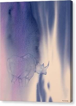 Darkness Canvas Print by Alison Nicholls