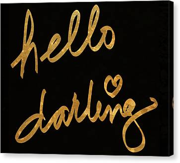 Darling Bella I Canvas Print by South Social Studio