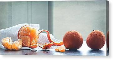 Darling Clementine  Canvas Print by Maggie Terlecki