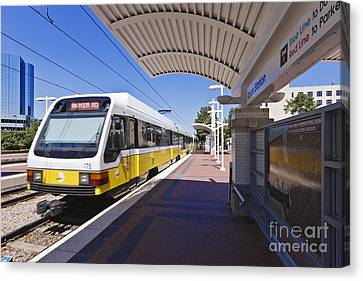 Dart Rail Train Station Canvas Print by Jeremy Woodhouse