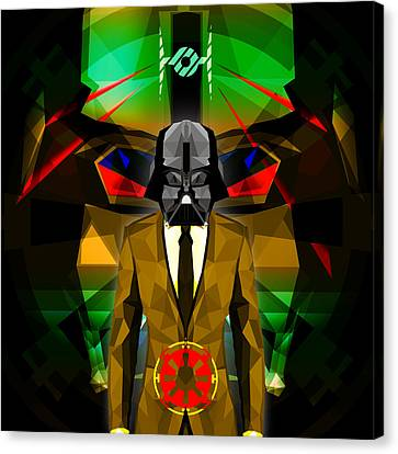 Darth Vader 10 Canvas Print by Gallini Design