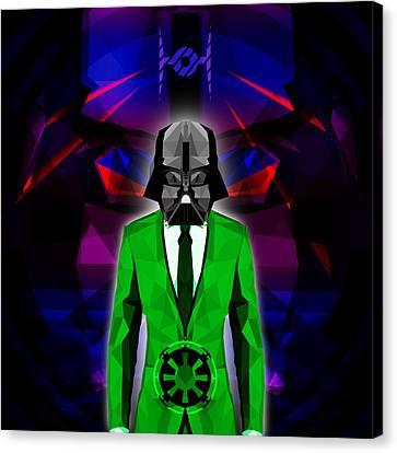 Darth Vader 5 Canvas Print by Gallini Design