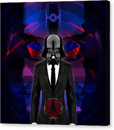 Darth Vader 8 Canvas Print by Gallini Design