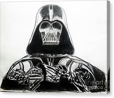 Darth Vader Rogue One - Original Canvas Print by Scott D Van Osdol